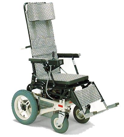 silla ruedas reclinable motorizada Suzuki