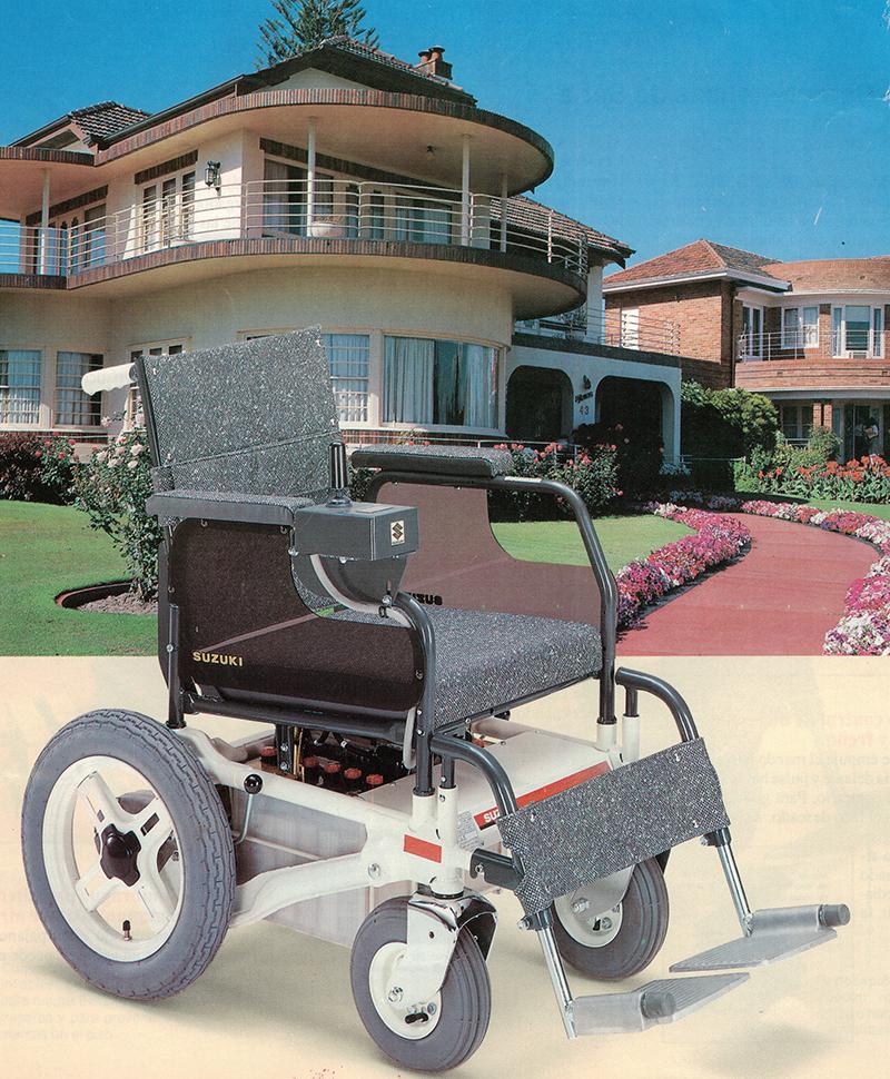 imagenes productos accesos silla ruedas motorizada Suzuki MC13S