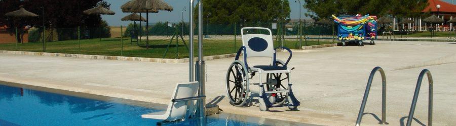 accesos elevadores hidrúlicos piscinas discapacitados